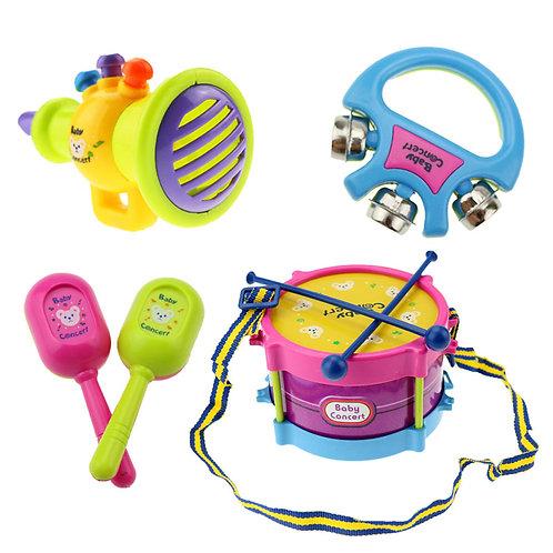 5 PC Toddler Music Set