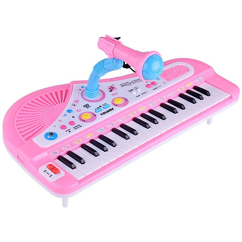 Toddler Piano with Microphone