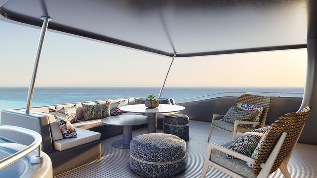 3D Rendering for Yachts