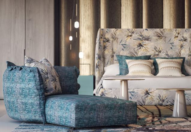 3D Interior Render for Villa in Dubai