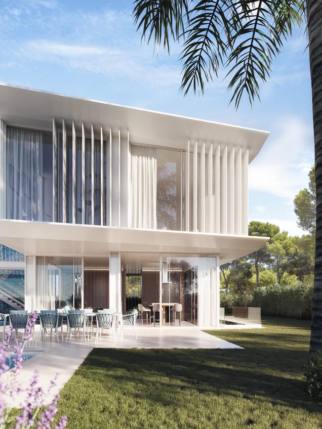 3D Visualization for Villa in Denia