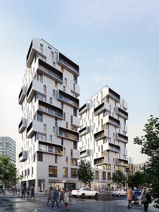 Residential building (Madrid, Spain)