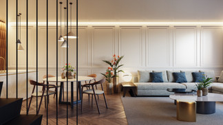 Photoreal Render from Flat in Valencia
