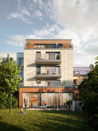 Residential building (Luxembourg City, Luxembourg)