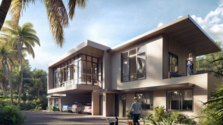 3D Rendering for a Villa in Miami