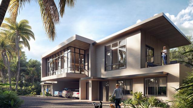 Three Single Houses (Miami, USA)