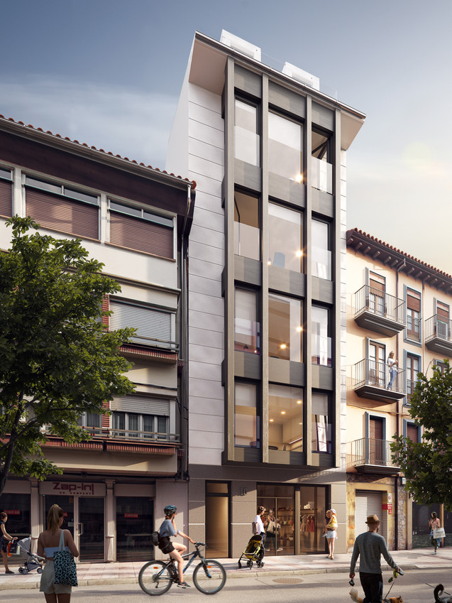 Architectural Rendering for Castro Urdiales Project