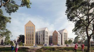 Student housing (Amherst, USA)