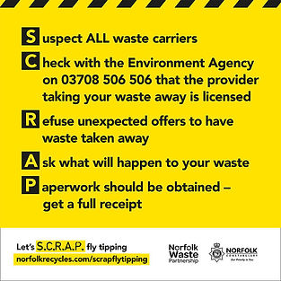 Flytipping Poster