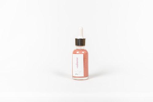 radiance glow oil - rose essential oil blend