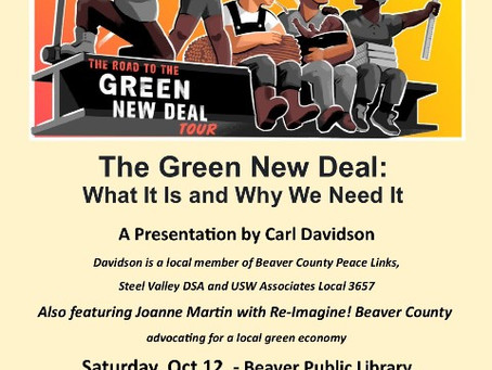 Don't Forget! Saturday, Oct 12, 1pm