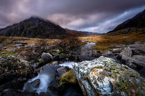 Water Flowing from Cwm Idwal