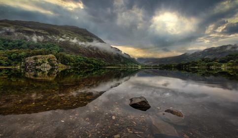 Llyn Gwynant sunrise