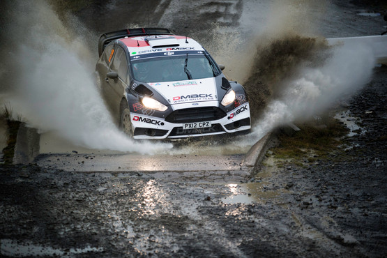 WRC Wales Sweet Lamb stage - Ott Tanak