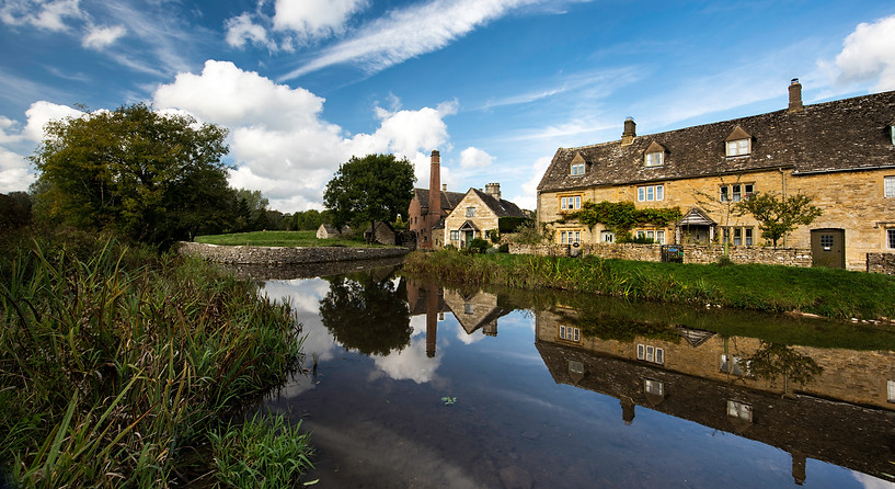 Mill Reflection Lower Slaughter - Cotswolds