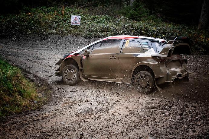 WRC Wales Clocaenog - Oto Tanak