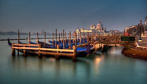 Gondolas Front - Venice