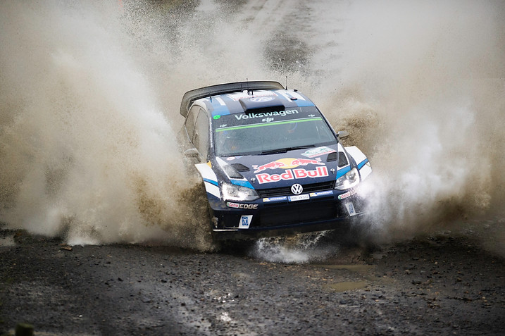 WRC Wales Sweet Lamb stage - Andreas Mikkelsen