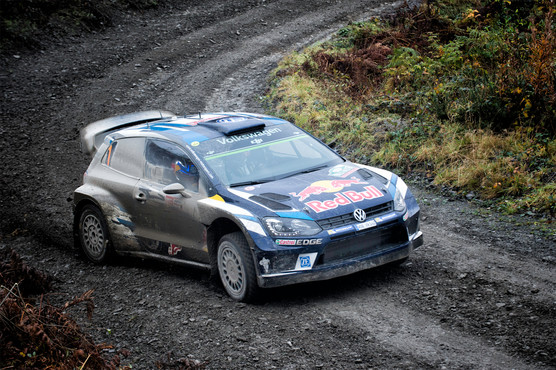 WRC Wales Clocaenog stage - Sebastian Ogier