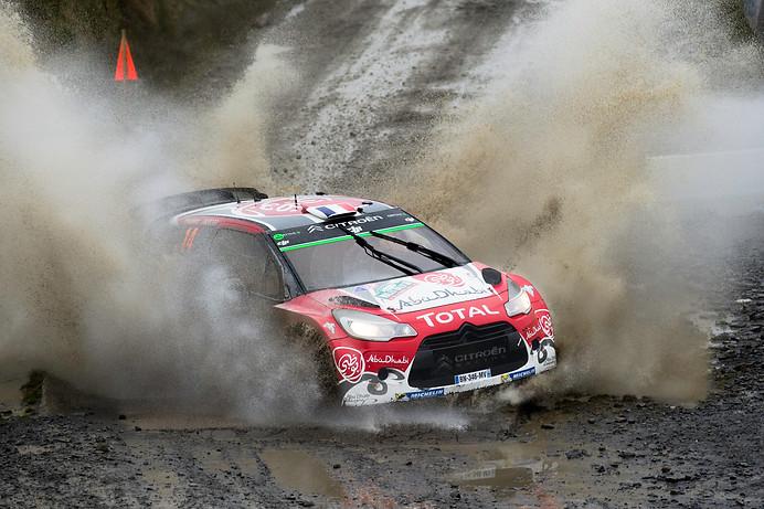 WRC Wales Sweet Lamb stage - Stephane Lefebvre