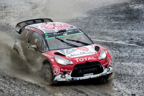 WRC Wales Clocaenog stage - Neuville
