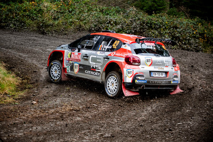 WRC Wales Clocaenog stage - Tempestini