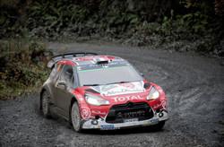 WRC Wales Clocaenog stage - Stephane Lefebvre