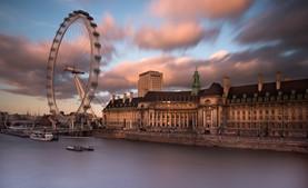 London Eye at Dusk