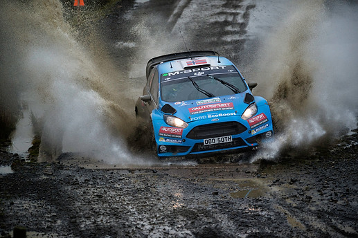 WRC Wales Sweet Lamb stage - Mads Ostberg