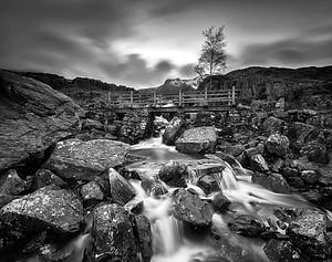 Cwm Idwal Waterfall - Snowdonia
