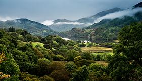 Looking back towards Llyn Gwynant - Snowdonia