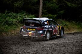 WRC Wales Clocaenog Stage - Evans