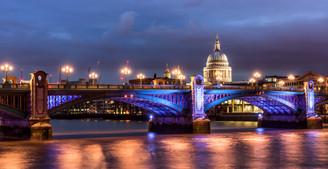 St Pauls and Southwark Bridge - London