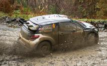 WRC Wales Clocaenog stage - Mads Ostberg
