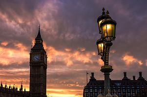 Westminster Tower Street Light