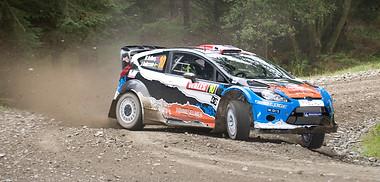 WRC Wales - Mads Ostberg
