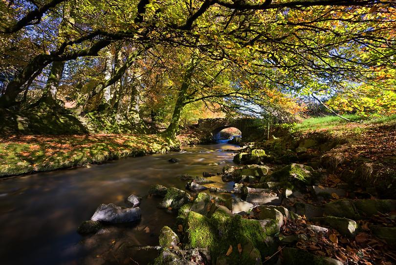Robbers Bridge Doone Valley - Exmoor