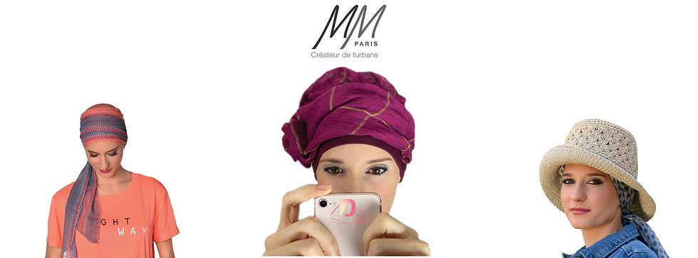 MM Paris turbans femme opérée chimio Dijon