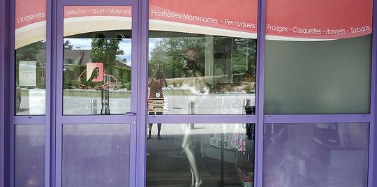 Boutique prothèse mammaire perruque lingerie La Deuche Rose