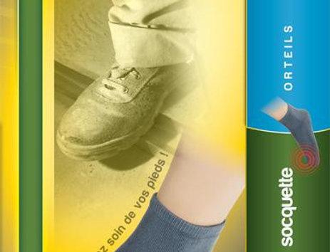 Socquettes de protection contre l'agression de la coque sur les orteils