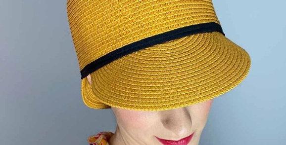 Valentin casquette moutarde