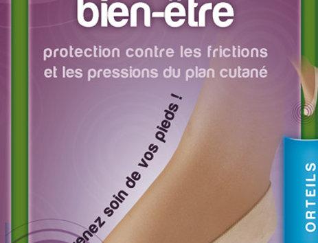 Ballerine de protection des orteils
