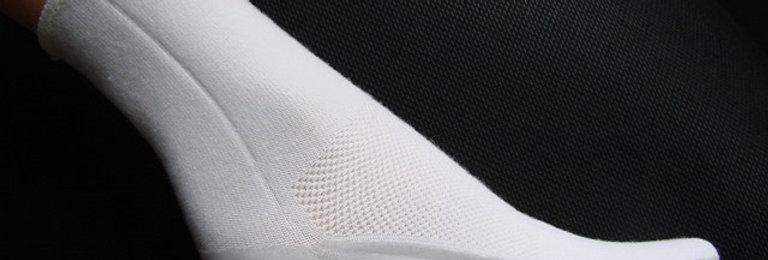 chaussette de protection et réhydratation sous tout le pied