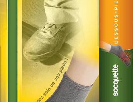 Socquettes de protection sols durs et semelles dures