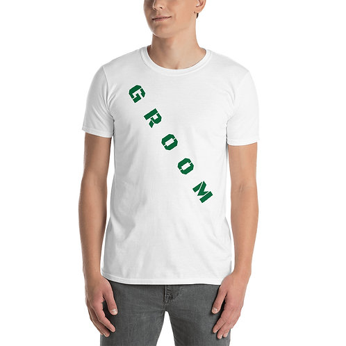 Groom Short-Sleeve Unisex T-Shirt