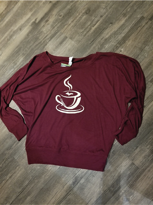 Coffee Slouch Shirt