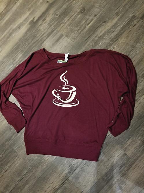 Coffee Slouch Shirt
