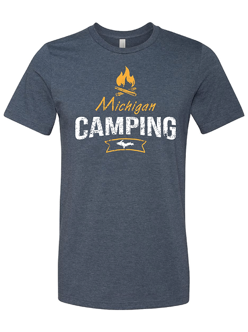 Michigan Camping Tee