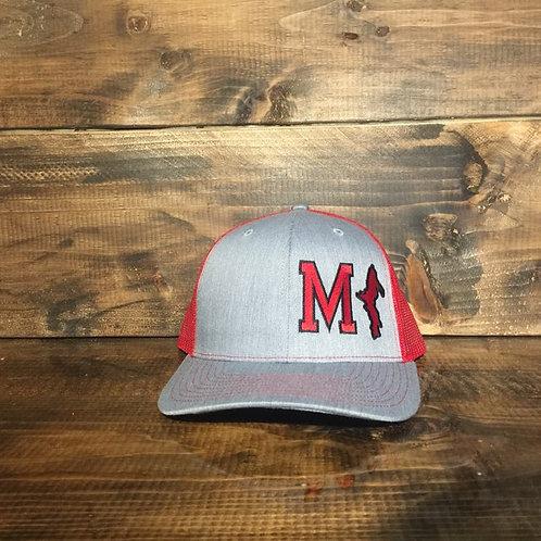 Red MI Hat