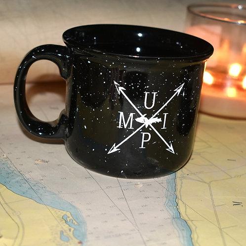MI UP camper mug